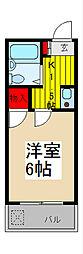 メゾンオンリー[3階]の間取り