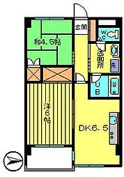 レジデンス88[6階]の間取り