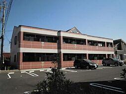 愛知県小牧市大字横内の賃貸アパートの外観