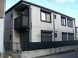 兵庫県宝塚市川面3丁目の賃貸アパートの外観
