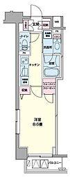 東京都中央区日本橋浜町2丁目の賃貸マンションの間取り