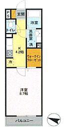 プランドール樹[2階]の間取り