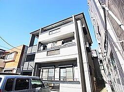 東京都足立区綾瀬4丁目の賃貸アパートの外観