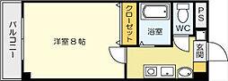 オークハイム[2階]の間取り