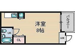ハイツ芳[7階]の間取り