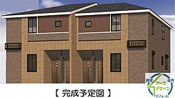 兵庫県三木市別所町高木の賃貸アパートの外観