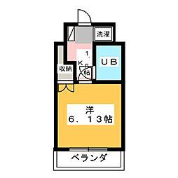 エトワール宇都宮第3[2階]の間取り