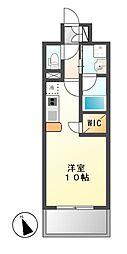 GRAND ESPOIR IZUMI[4階]の間取り