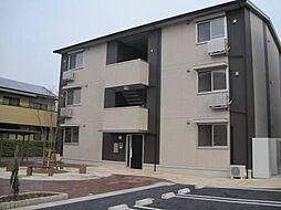 愛知県安城市横山町大山田中の賃貸アパートの外観