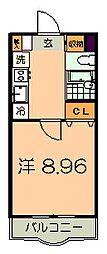 NSマンション[3階]の間取り