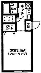 MODULOR MITAKA[303号室]の間取り