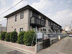 大阪府松原市西大塚1丁目の賃貸アパートの外観