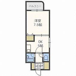 ティアラ118[7階]の間取り
