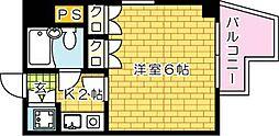 第11片山ビル[501号室]の間取り