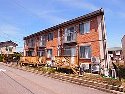 新潟県新発田市東新町3丁目の賃貸アパートの外観