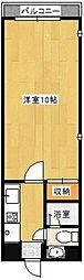 Osaka Metro千日前線 野田阪神駅 徒歩3分の賃貸マンション 2階1Kの間取り