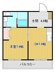 Grand Maison Aoi[3階]の間取り