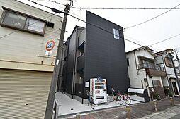 近鉄南大阪線 矢田駅 徒歩10分の賃貸アパート