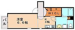 Drafi参番館[2階]の間取り