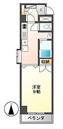 ラヴィアン名駅[2階]の間取り