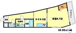 イケガミパート6[5階]の間取り