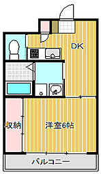 Nippo Homes[3階]の間取り