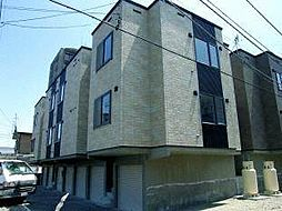 北海道札幌市中央区南十五条西13丁目の賃貸アパートの外観