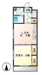 センチュリーパーク野田[4階]の間取り