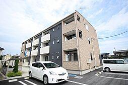 栃木県鹿沼市緑町3丁目の賃貸アパートの外観