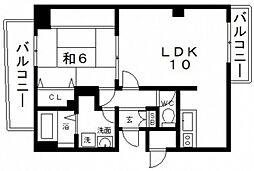 グレースK[2階]の間取り