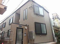 東京都渋谷区猿楽町の賃貸アパートの外観