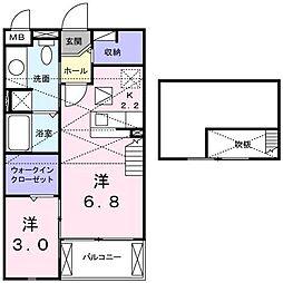 エクストラ ステージ II[2階]の間取り