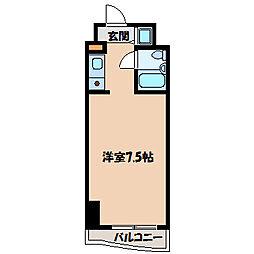 テディマンション[3階]の間取り