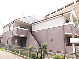 大阪府大東市中楠の里町の賃貸アパートの外観