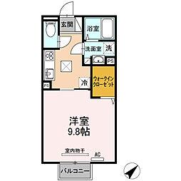 (仮)D-room山口東京理科大前[107号室]の間取り