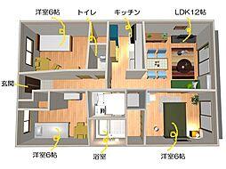 ブレインマンション[206号室]の間取り