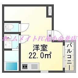 ピュアレスK吉祥寺[3階]の間取り