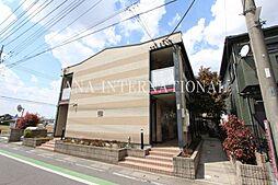 埼玉県吉川市大字保の賃貸アパートの外観