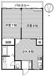 グレイスフルマンション[3階]の間取り