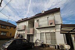東京都東村山市秋津町4の賃貸アパートの外観