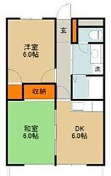 NKマンション[303号室]の間取り