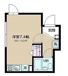 フェリーチェ東高円寺II[0303号室]の間取り