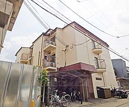 京都府京都市左京区松ケ崎杉ケ海道町の賃貸アパートの外観