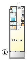 プランベイム滝子通(仮称)[5階]の間取り
