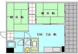 MDIマンション、[2階]の間取り