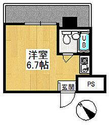 メゾン・ド・新狭山[3階]の間取り