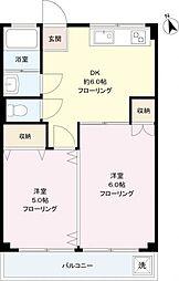 第一笹塚ビル[8階]の間取り
