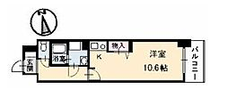 広島県呉市三条3丁目の賃貸アパートの間取り