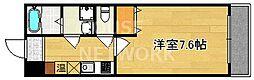 サニーハイツII[2-D号室号室]の間取り