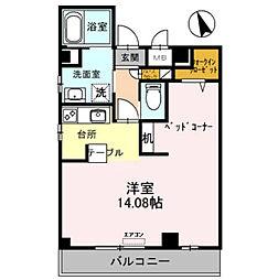 マ メゾン サンライズ浜寺[2階]の間取り